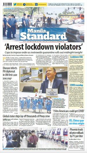 Saturday Print Edition (03/14/2020)