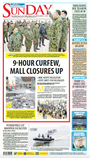 Sunday Print Edition (03/15/2020)