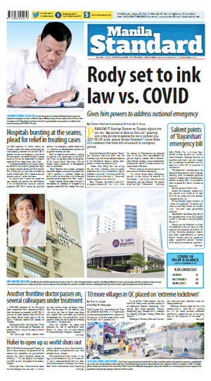 Wednesday Print Edition (03/25/2020)