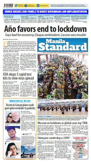 Tuesday Print Edition (03/31/2020)