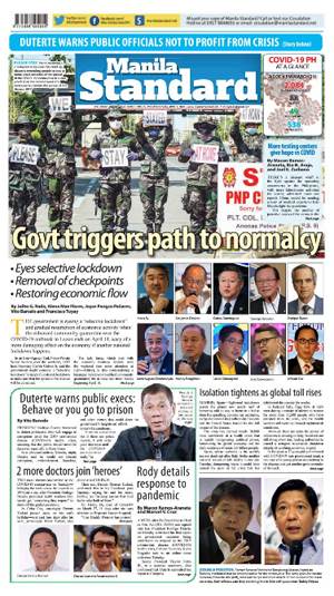Wednesday Print Edition (04/01/2020)