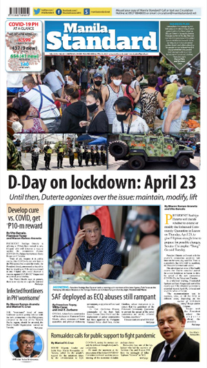 Wednesday Print Edition (04/22/2020)