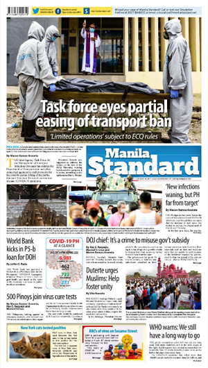 Friday Print Edition (04/24/2020)