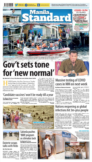 Wednesday Print Edition (04/29/2020