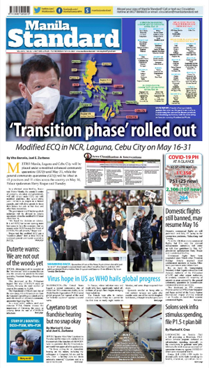 Wednesday Print Edition (05/13/2020)
