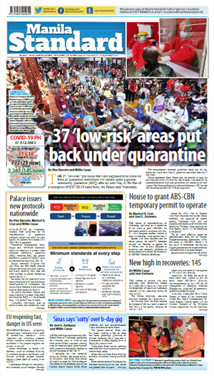 Thursday Print Edition (05/14/2020)