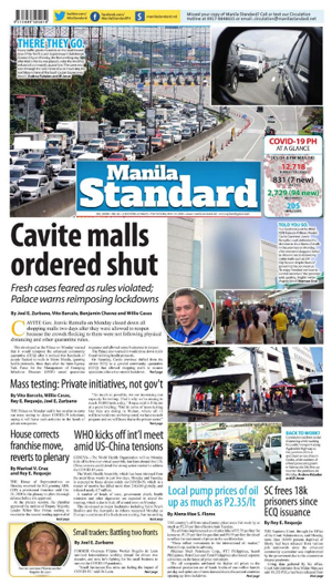 Tuesday Print Edition (05/19/2020)