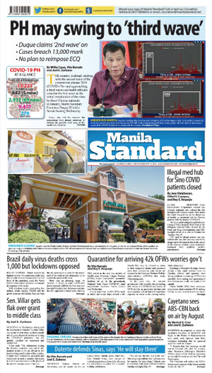 Thursday Print Edition (05/21/2020)
