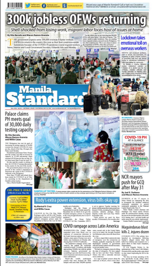 Tuesday Print Edition (05/26/2020)