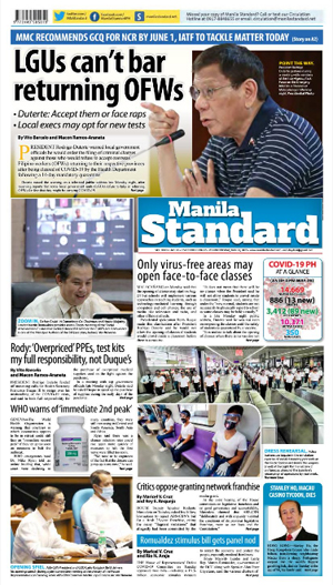 Wednesday Print Edition (05/27/2020)