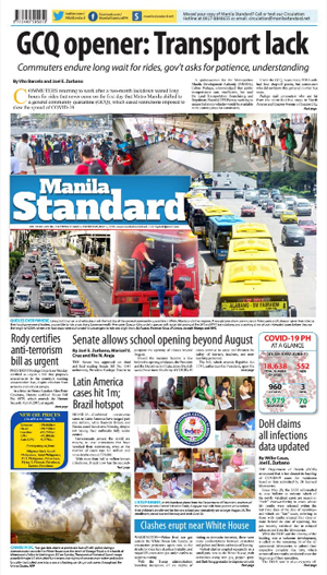 Tuesday Print Edition (06/02/2020)