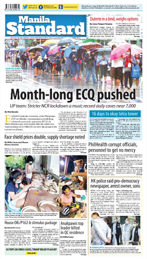 Tuesday Print Edition (08/11/2020)