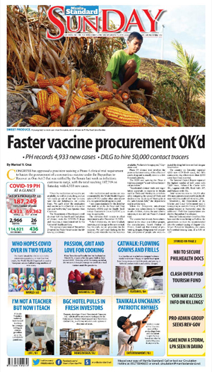 Sunday Print Edition (08/23/2020)