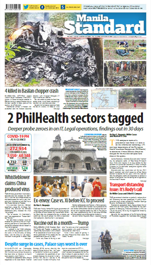 Thursday Print Edition (09/17/2020)
