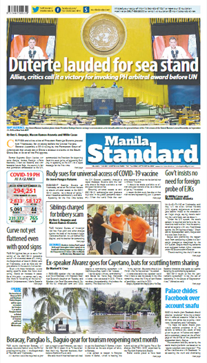 Thursday Print Edition (09/24/2020)