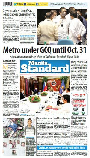 Tuesday Print Edition (09/29/2020)