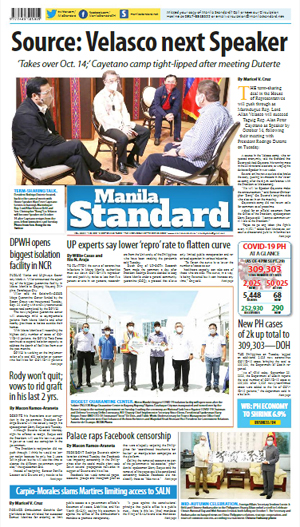 Wednesday Print Edition (09/30/2020)