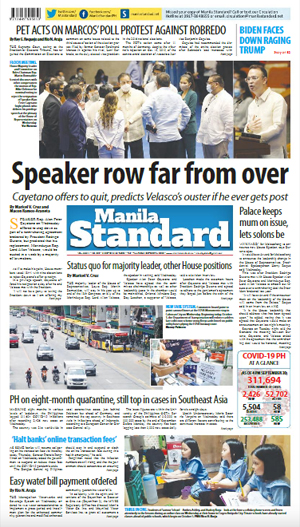 Thursday Print Edition (10/01/2020)