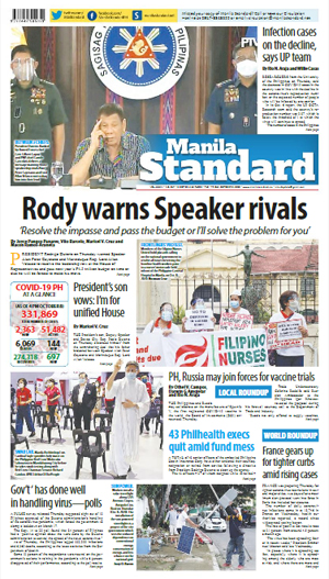 Friday Print Edition (10/09/2020)