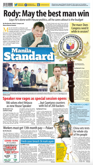 Tuesday Print Edition (10/13/2020)