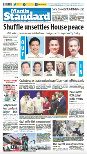 Thursday Print Edition (10/15/2020)