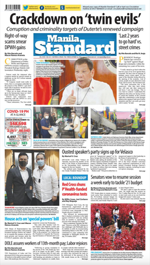 Friday Print Edition (10/16/2020)
