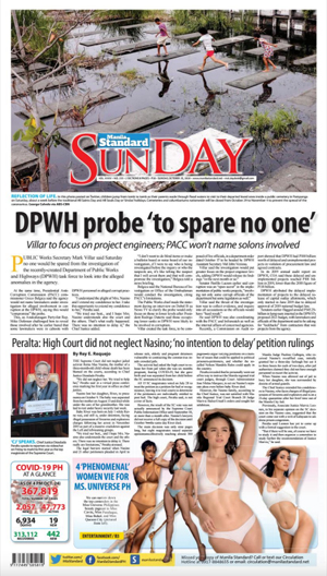 Sunday Print Edition (10/25/2020)