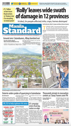 Tuesday Print Edition (11/03/2020)