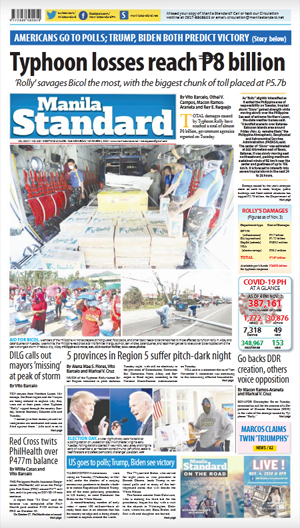 Wednesday Print Edition (11/04/2020)
