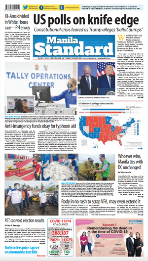 Thursday Print Edition (11/05/2020)
