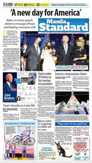 Monday Print Edition (11/09/2020)