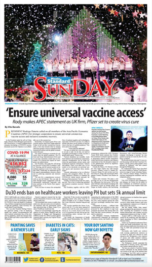 Sunday Print Edition (11/22/2020)