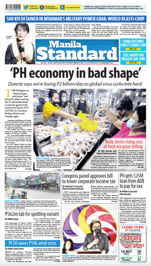 Tuesday Print Edition (02/02/2021)