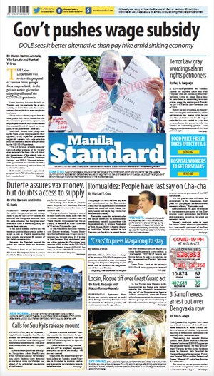 Wednesday Print Edition (02/03/2021)