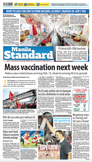 Tuesday Print Edition (02/09/2021)