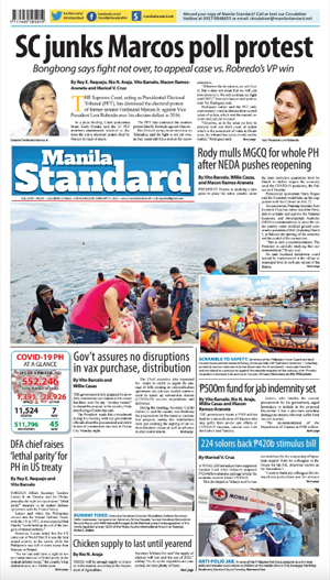 Wednesday Print Edition (02/17/2021)