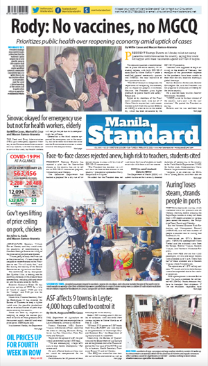 Tuesday Print Edition (02/23/2021)