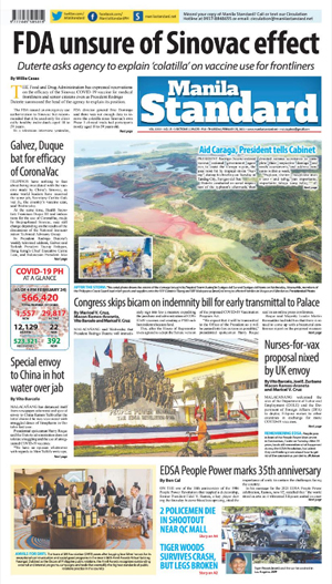 Thursday Print Edition (02/25/2021)