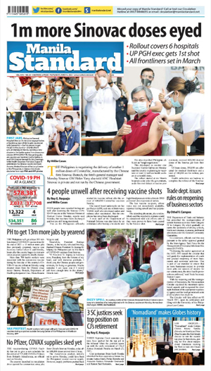 Tuesday Print Edition (03/02/2021)