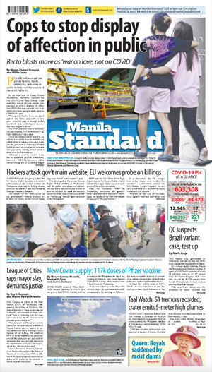 Thursday Print Edition (03/11/2021)