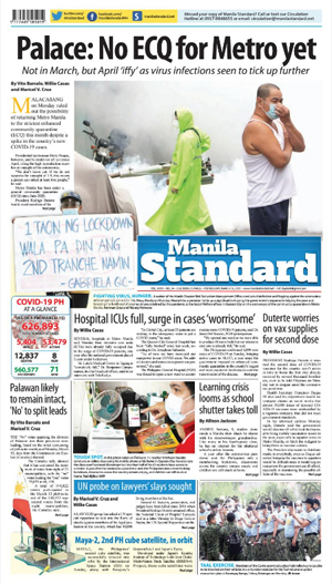 Tuesday Print Edition (03/16/2021)