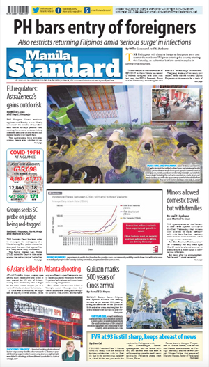 Thursday Print Edition (03/18/2021)