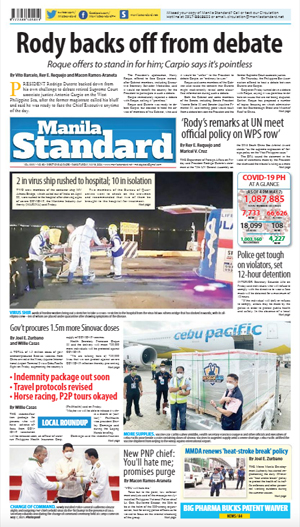 Saturday Print Edition (05/08/2021)