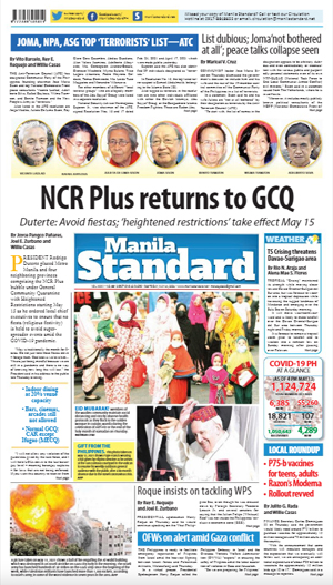 Friday Print Edition (05/14/2021)